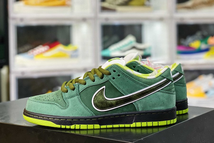 BV1310-337 Concepts x Nike SB Dunk Low Green Lobster Sale