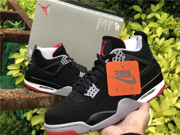 The return of the iconic Air Jordan 4 Bred is almost here