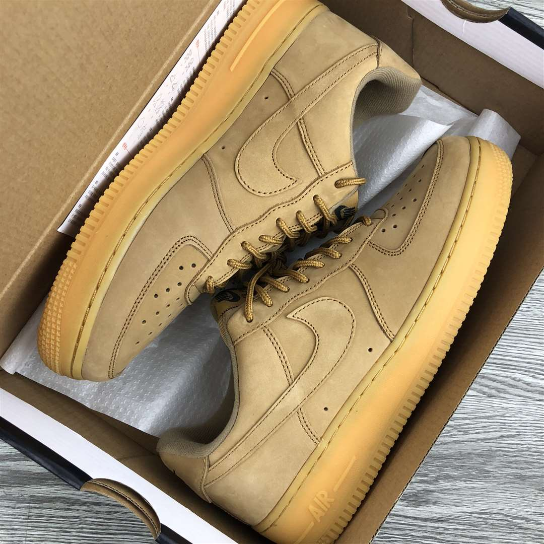 Nike Air Force 1 Low 07 WB Flax-Gum Light Brown New Sale