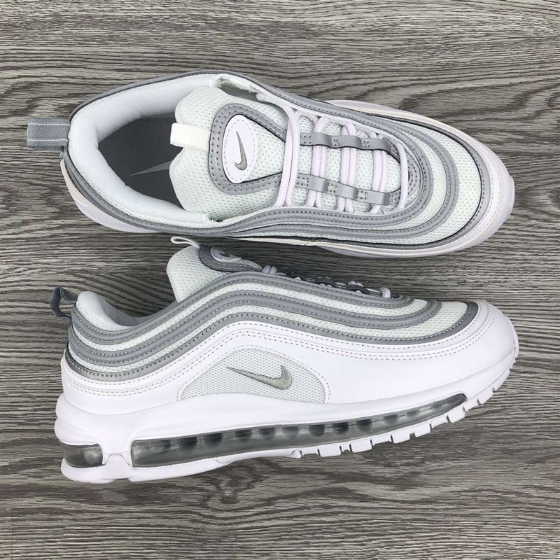 Nike Air Max 97 White Reflect Silver-Wolf Grey 921826-105 New Sale