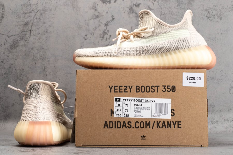adidas Yeezy Boost 350 V2 Citrin Reflective FW5318 Cheap Sale
