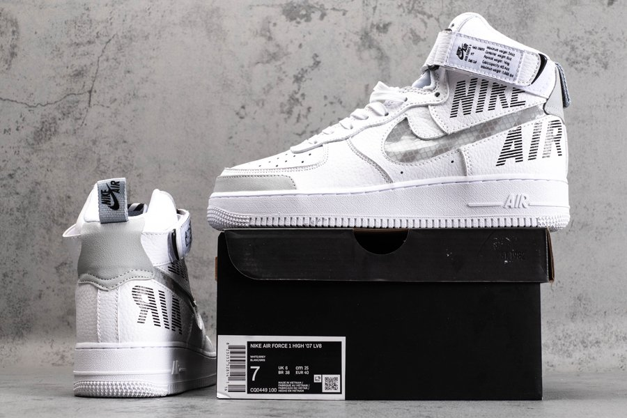 Air Force 1 High Under Construction White CQ0449-100 New Sale