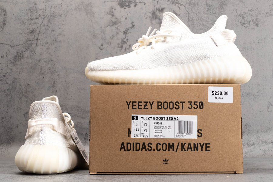 CP9366 adidas Yeezy Boost 350 V2 Triple White New Sale