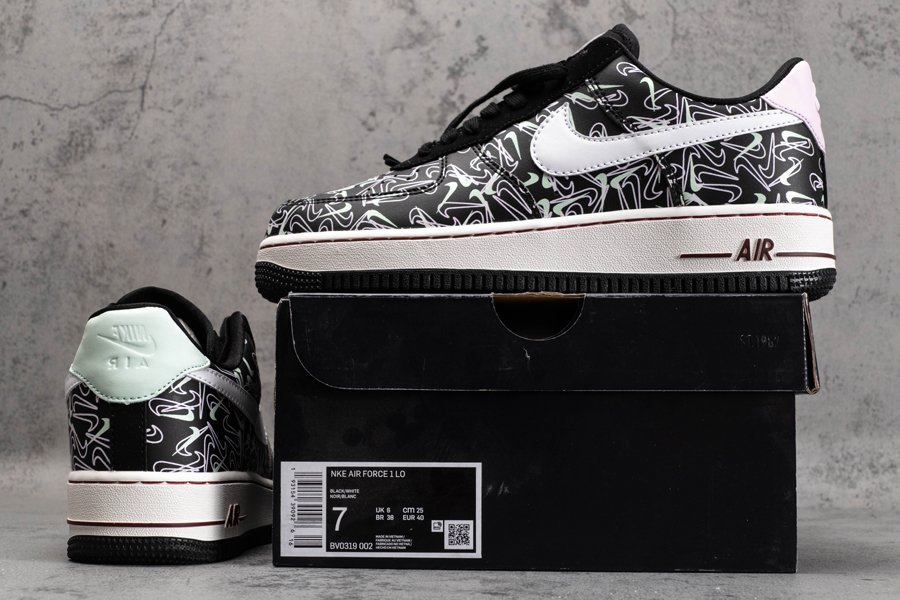 2020 Nike Air Force 1 07 Low SE Valentines Day BV0319-002 New Sale