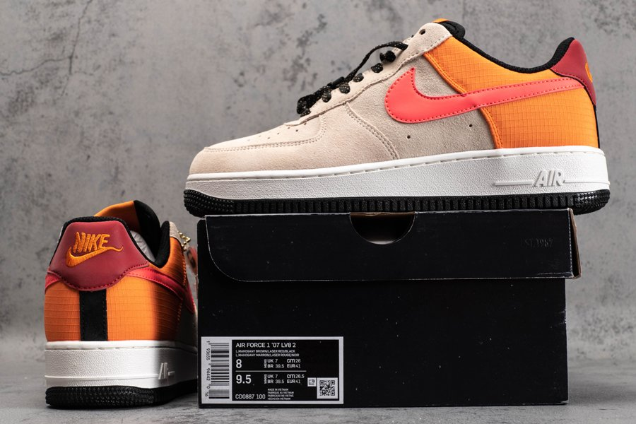 ACG-Inspired Nike Air Force 1 Low ACG Light Orewood Brown New Sale