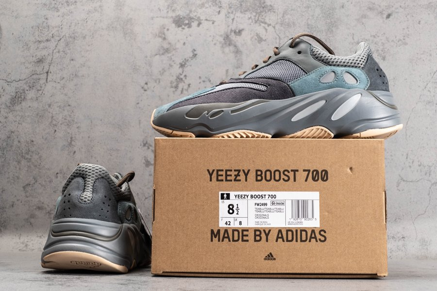 FW2499 adidas Yeezy Boost 700 Teal Blue New Sale