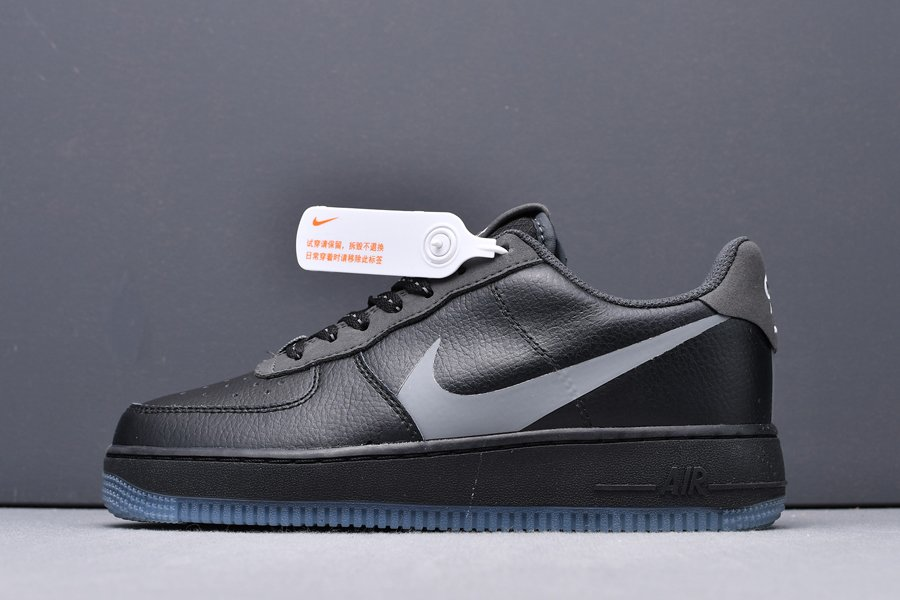 CD0888-001 Nike Air Force 1 07 LV8 Black Anthracite New Sale