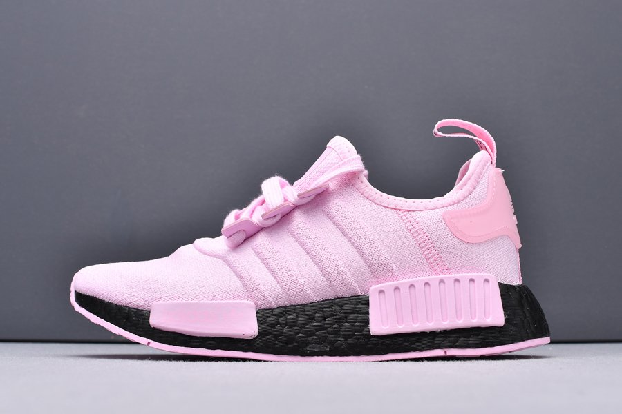 FX0825 adidas NMD R1 Pink Black For Womens Cheap Sale