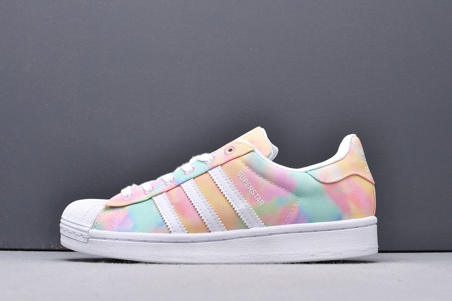 FY1268 adidas Superstar WMNS Easter Tie-Dye New Sale