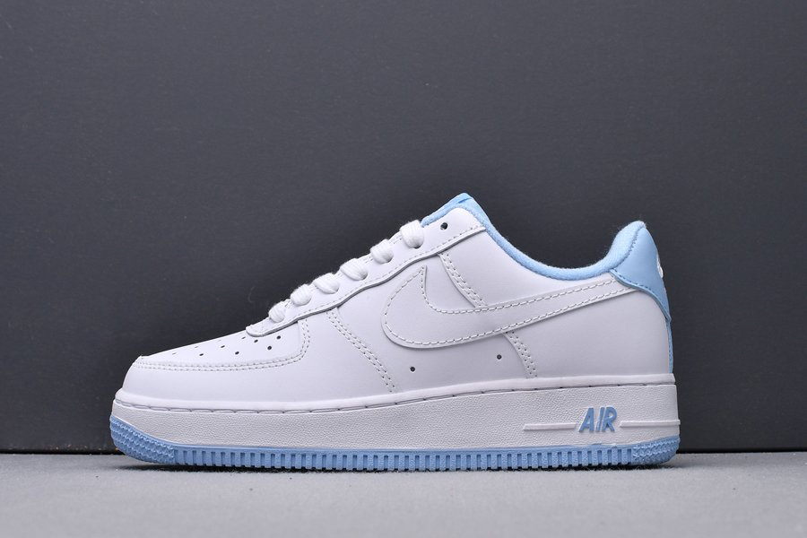CD6915-103 Nike GS Air Force 1 Low White Hydrogen Blue New Sale