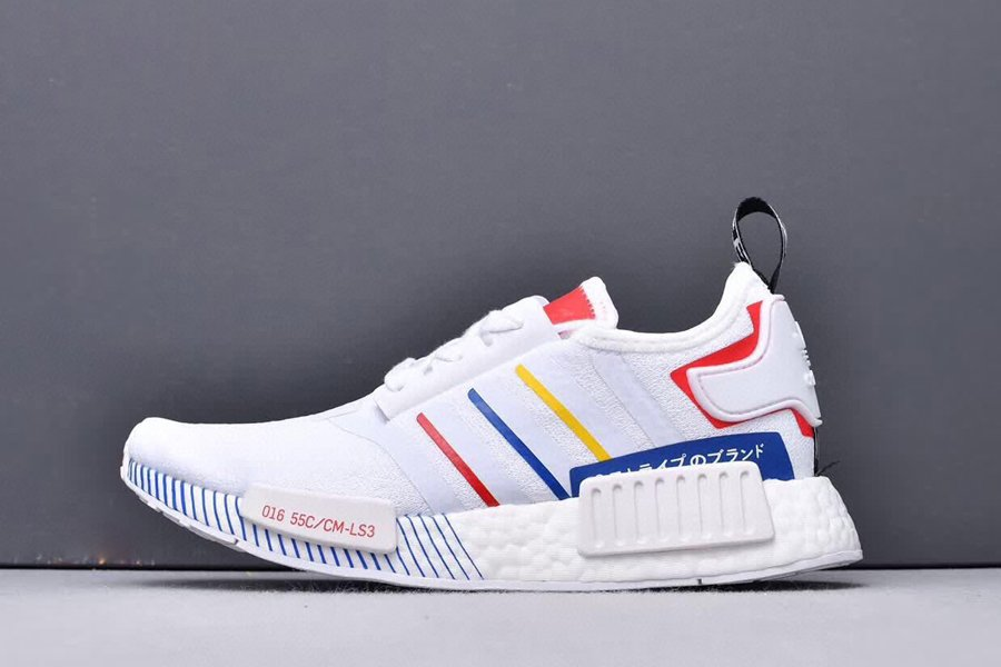 FY1432 adidas NMD R1 Olympic Pack White 2020 New Sale
