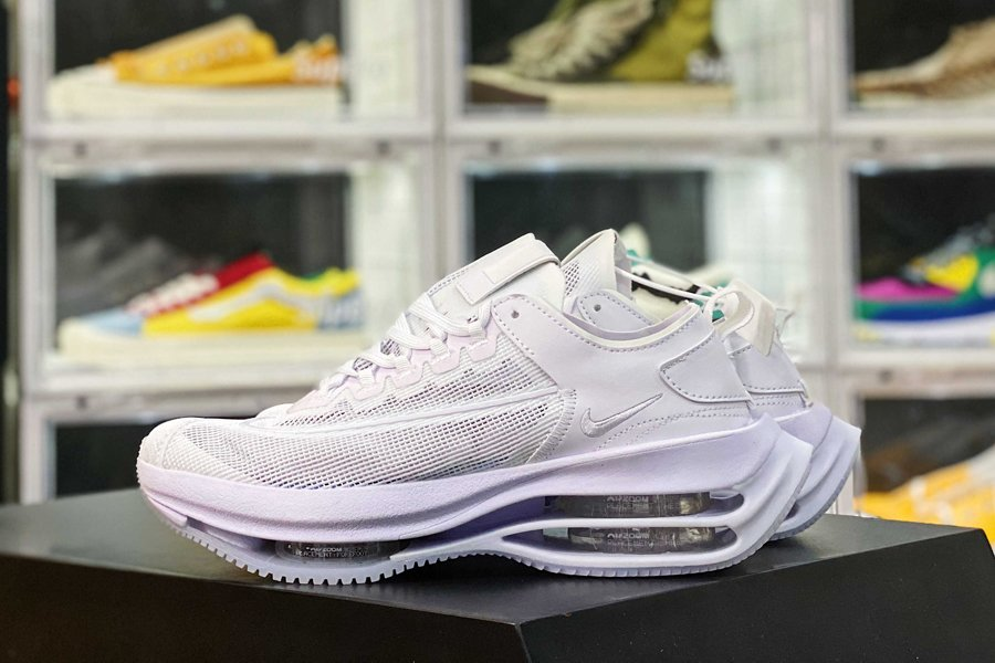 Nike Zoom Double Stacked All White