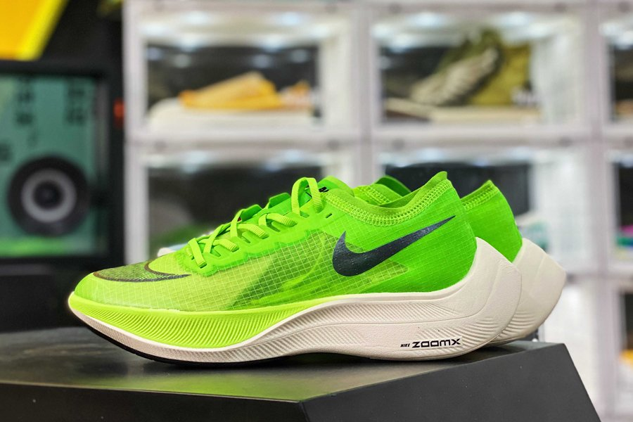 AO4568-300 Nike ZoomX Vaporfly Next Volt Running Shoes