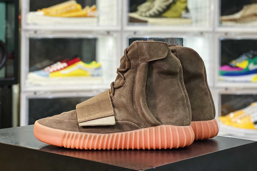 BY2456 adidas Yeezy Boost 750 Chocolate Brown Gum