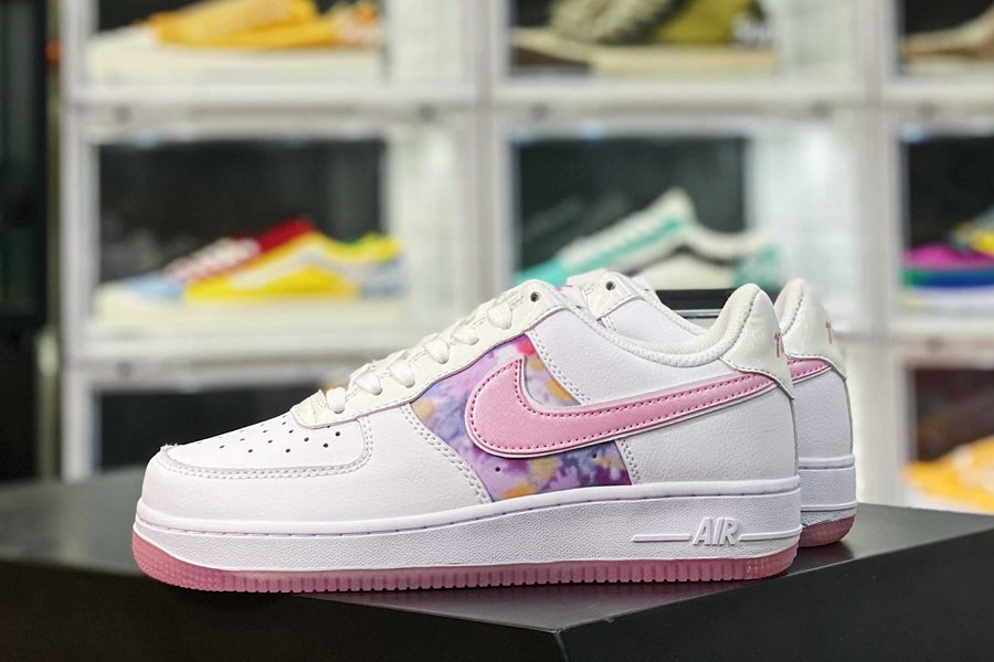 CN8535-100 Nike Air Force 1 Low Floral White Pink