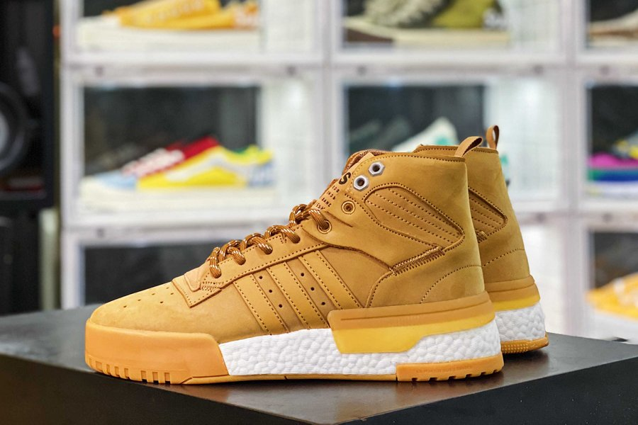 Brand New adidas Rivalry RM Wheat White New Sale