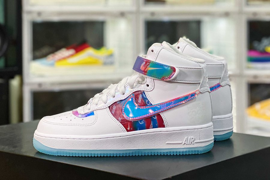 DC2111-191 Nike Air Force 1 High Have A Good Game White Sale