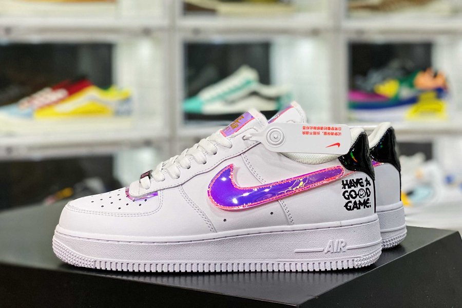 DC0710-191 Nike Air Force 1 Low Have A Good Game White Multi-color