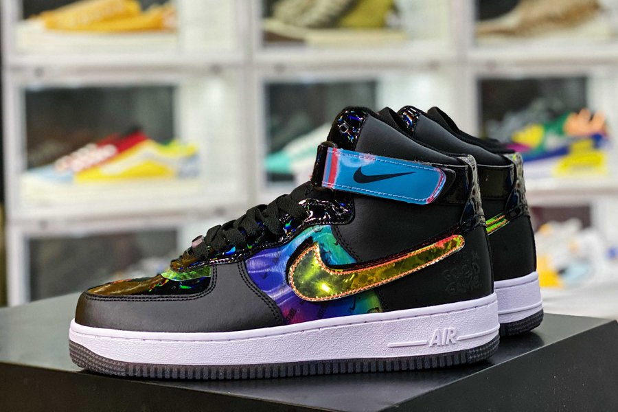DC0831-101 Nike Air Force 1 High Have A Good Game In Black