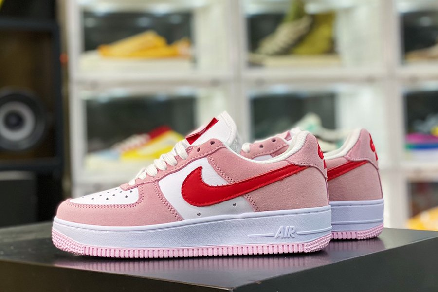 DD3384-600 Nike Air Force 1 Low QS Pink Valentines Day Love Letter
